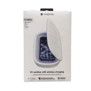 NEW IN BOX Mophie UV sanitizer wireless charger